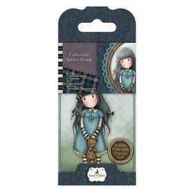 Gorjuss Rubber Stamp - No.4 Forget Me Not