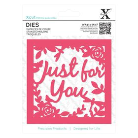 Xcut Dies - Just For You Topper