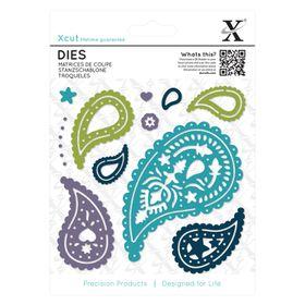 Xcut Dies - Paisley (11 Pieces)