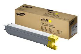 Samsung CLT-Y659S Yellow Laser Toner Cartridge