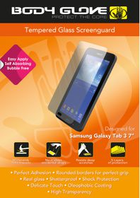 "Body Glove Tempered Glass screenguard for Samsung Tab 3 7"" Lite"