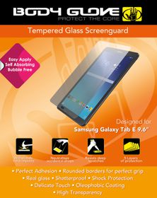 Body Glove Tempered Glass screenguard for Samsung Tab E