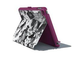 Speck Ipad Mini 4 Stylefolio Vintage Bouquet - Grey / Purple