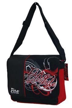 Fino Unisex Griffiti Messenger Bag (X2221) - Red