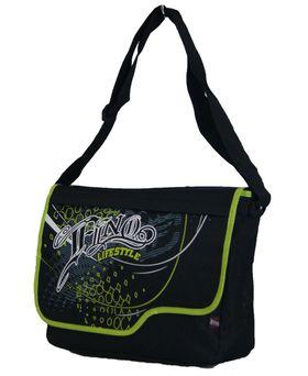 Fino Unisex Griffiti Messenger Bag (X2944) - Green