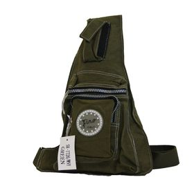 Fino Unisex Waterproof Nylon Chest Bag (CA7726WNY) - Green