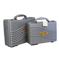 Fino 2 in 1 Utility School Case (L) & (M) Set - Silver