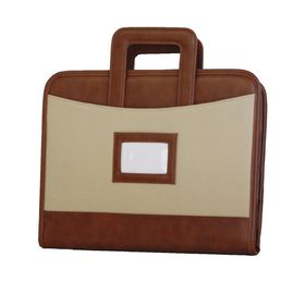 Portfolio with A4 Papers/caculator and Flexible Handles PF011 - Brown
