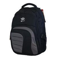 "Fino  17"" Laptop Backpack (SK9027) - Black & Grey"