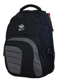 "Fino  17"" Laptop Backpack (SK9027) - Black & Grey"