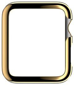 Griffin 3-Pack Ultra Thin Guard for Apple Watch (38mm) - Gold/Clear