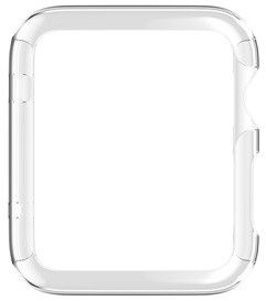 Griffin 3-Pack Ultra Thin Guard for Apple Watch (38mm) - Silver/Clear