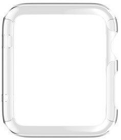 Griffin 3-Pack Ultra Thin Guard for Apple Watch (42mm) - Silver/Clear