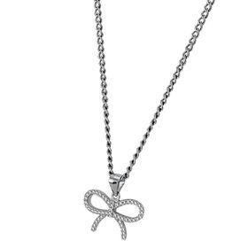 Shiroko Sterling Silver Bowknot Pendant