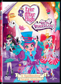 Ever After High: Way Too Wonderland (DVD)