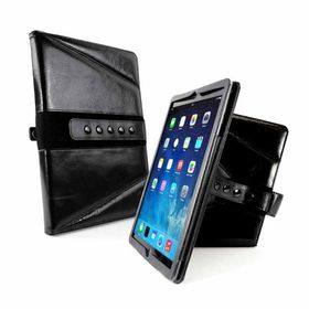 "Tuff-Luv Tri-Axis Western Leather Case Cover for Apple iPad Pro 12.9"" - Black"