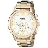 Fossil Men's JR1479 Nate Chronograph Stainless Steel Watch - Gold-Tone (parallel import)