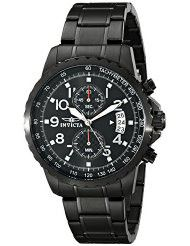 Invicta Men's 13787 Specialty Black Ion-Plated Stainless Steel Watch (parallel import)