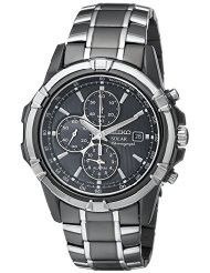 Seiko Men's SSC143 Stainless Steel Solar Watch with Link Bracelet (parallel import)