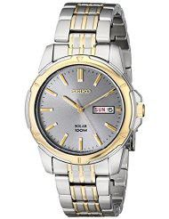 Seiko Men's SNE098 Two-Tone Stainless Steel Watch (parallel import)