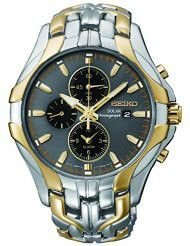 "Seiko Men's SSC138 ""Excelsior"" Two-Tone Stainless Steel Solar Watch (parallel import)"