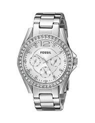 Fossil Women's ES3202 Riley Multifunction Stainless Steel Watch (parallel import)
