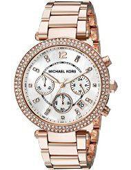 Michael Kors Women's Parker Rose Gold-Tone Watch MK5491 (parallel import)