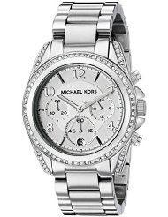 Michael Kors Women's Blair Silver-Tone Watch MK5165 (parallel import)