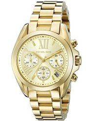 Michael Kors Women's MK5798 Bradshaw Gold-Tone Stainless Steel Watch (parallel import)