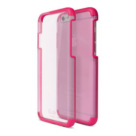 iLuv Vyneer Dual Material Case iPhone 6/6s - Pink