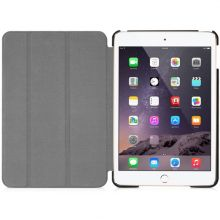 MACALLY - Protective case and stand for iPad Mini 4 - Black