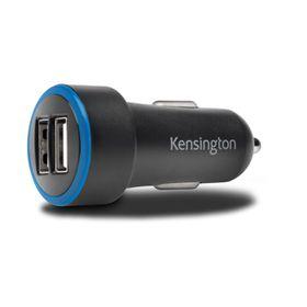 Kensington PowerBolt  5.2 Dual USB  Car Charger - Black