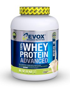 Evox 100% Whey Protein Advanced - Vanilla 3.2kg