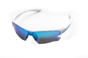 Salice 011 RW White & Blue Cycling Sunglasses
