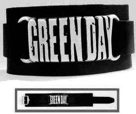 Alchemy Poker Set of leather wristbands - Green Day