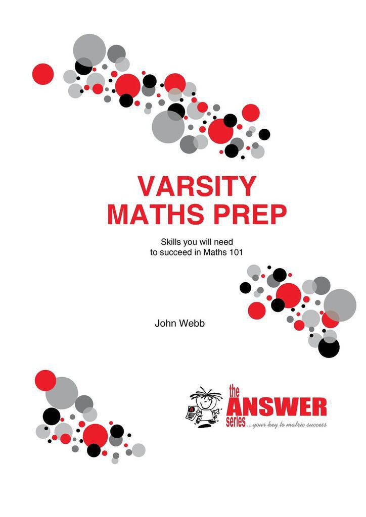 The Answer Series Varsity Maths Prep Study Guide | Buy Online in ...