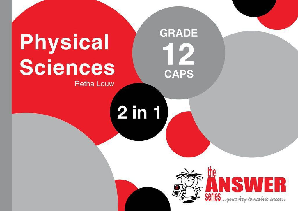 the answer series grade 12 physical sciences 2in1 caps study guide rh takealot com physical science grade 12 study guide pdf physical science grade 12 study guide free download pdf