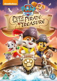 Paw Patrol: Pups and the Pirate Treasure (DVD)