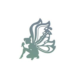 Couture Creations Secret Garden Dies - Elegant Fairy (76x88mm)