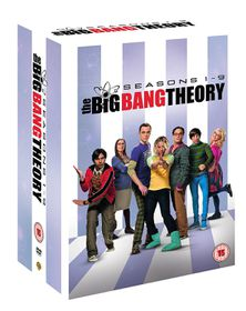 Big Bang Theory Series 1-9 (DVD)