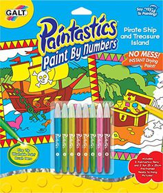 Galt Paint by Numbers Pirate Ship
