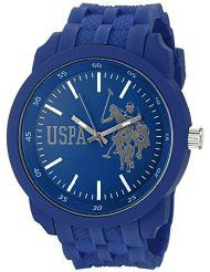 U.S. Polo Assn. Sport Men's USP9036 Analog Display Analog Quartz Blue Watch (Parallel imports)