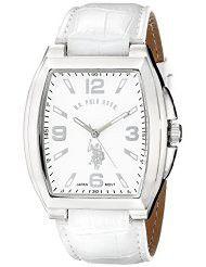 U.S. Polo Assn. Classic Men's USC50183 Analog Display Analog Quartz White Watch (Parallel imports)