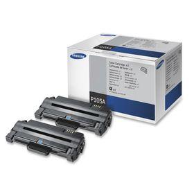 Samsung MLT-P105A Black Laser Toner Cartridges - Dual Pack