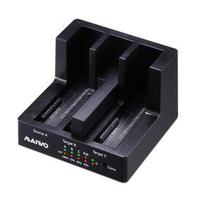 Maiwo 3-Bay SATA HDD USB3.0 Clone STN (K3093U3)