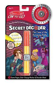 Melissa & Doug Runaway Ruby Secret Decoder Set