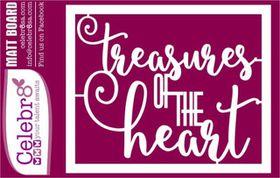 Celebr8 Sea Treasures Matt Board Midi - Treasures of the Heart