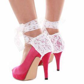 Heels Diva Selenite Heel Wrap - White