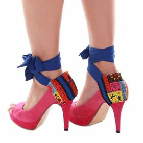 Heels Diva Checkmate Heel Wrap - Multi-Coloured