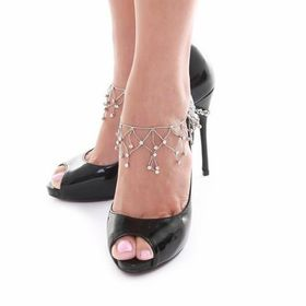 Heels Diva Carriage Awaiting Shoe Chain - Silver